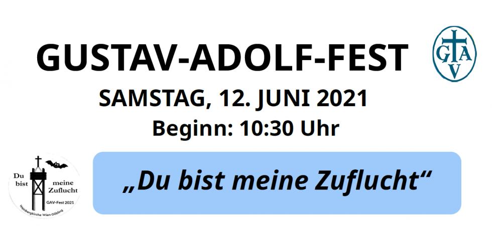 Gustav-Adolf-Fest am 12. Juni 2021 in der Weinbergkirche in Döbling