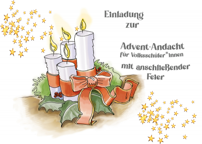 Adventnachmittag in der Bekenntniskirche-Volksschüler*innen, Basteln, Kekse backen