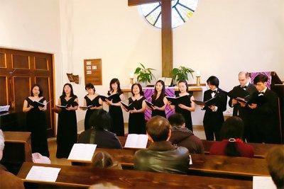 Gesangsensemble Hummel Passionskonzert 30. März 20219 Bekenntniskirche Wien-Donaustadt